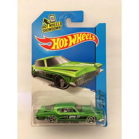 Hot Wheels - 1971 Buick Riviera Verde - Mainline 2015