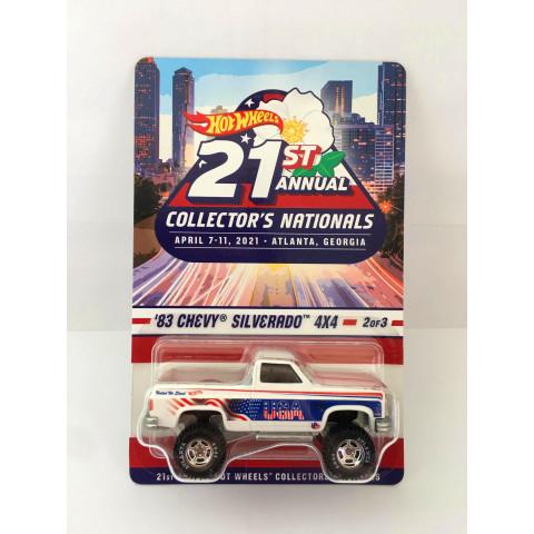 Hot Wheels - 83 Chevy Silverado 4x4 - 21st Annual Collectors Nationals - April 7-11 - Atlanta - GE