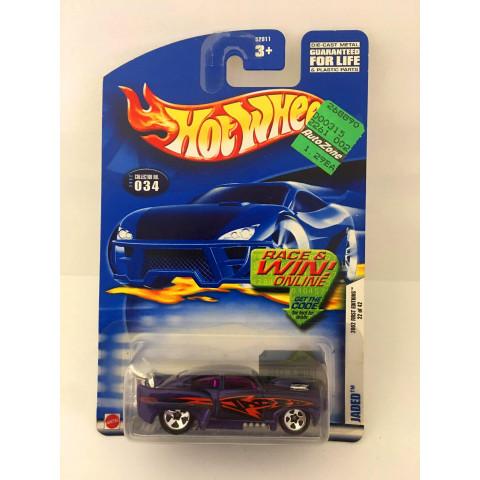 Hot Wheels - Jaded  Roxo - Mainline 2002