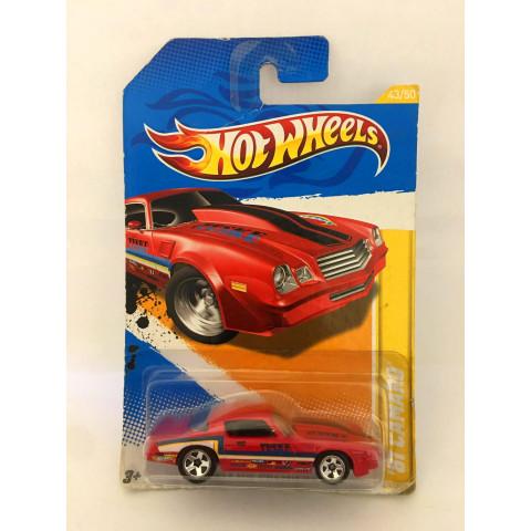 Hot Wheels - 81 Camaro Vermelho - Mainline 2012