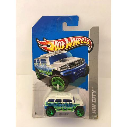 Hot Wheels - Rockster Branco - Mainline 2013