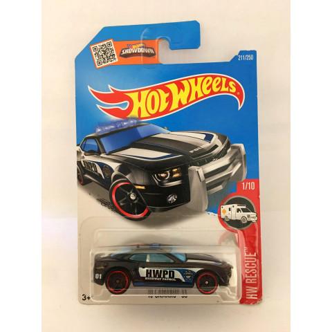 Hot Wheels - 10 Camaro SS Preto - Mainline 2016