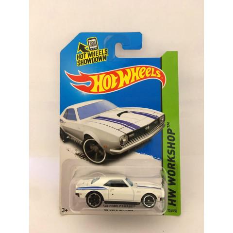 Hot Wheels - 68 Copo Camaro Branco - Mainline 2014