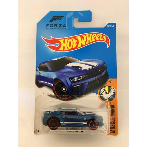 Hot Wheels - 16 Camaro SS Azul - Mainline 2016