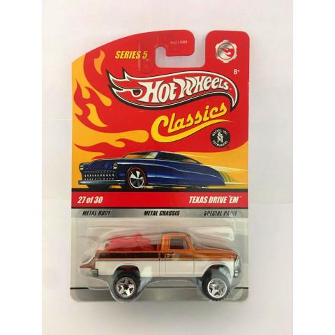 Hot Wheels - Texas Drive 'EM Laranja - Série Classics
