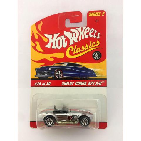 Hot Wheels - Shelby Cobra 427 S/C Prata - Classics