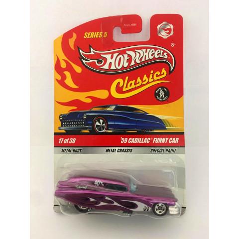 Hot Wheels - 59 Cadillac Funny Rosa - Classics