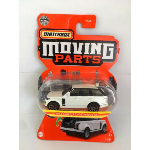 Matchbox - 2018 Land Rover Vogue SE Branco - Moving Parts