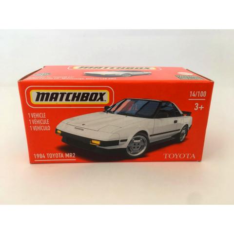 Matchbox - 1984 Toyota MR2 Branco - Power Grabs - Básico 2021