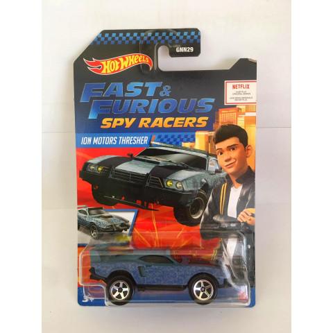 Hot Wheels - Ion Motors Thresher Cinza - Fast & Furious Spy Racers