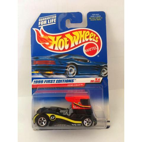Hot Wheels - Semi-Fast  Preto - Mainline 1999