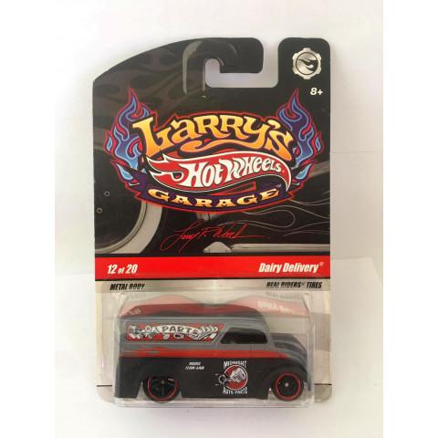 Hot Wheels - Dairy Delivery Preto - Larrys Garage