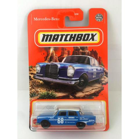 Matchbox - 62 Mercedes-Benz 220 SE Azul - Básico 2021