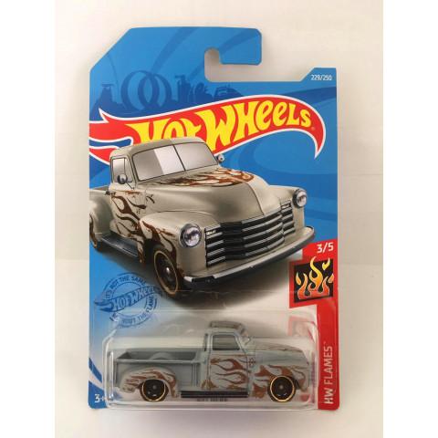 Hot Wheels - 52 Chevy Cinza - Mainline 2021