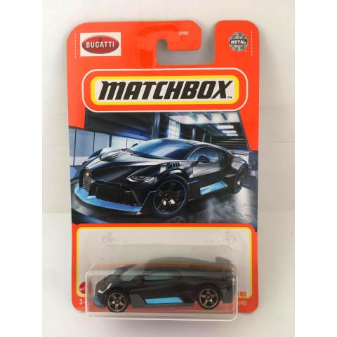 Matchbox - 2018 Bugatti Divo Preto - Básico 2021