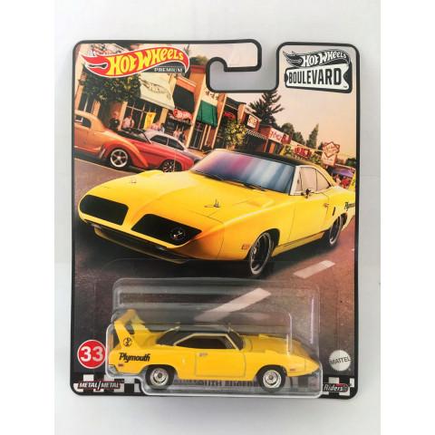 Hot Wheels - 70 Plymouth Superbird Amarelo - Boulevard