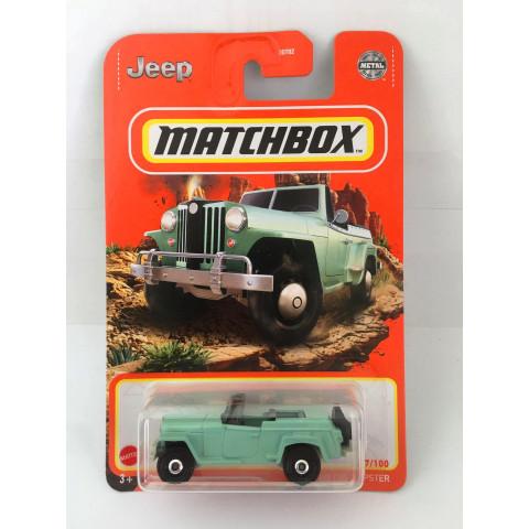 Matchbox - 1948 Willys Jeepster Verde - Básico 2021