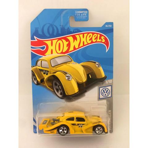 Hot Wheels - Volkswagen Kafer Racer Amarelo - Mainline 2018