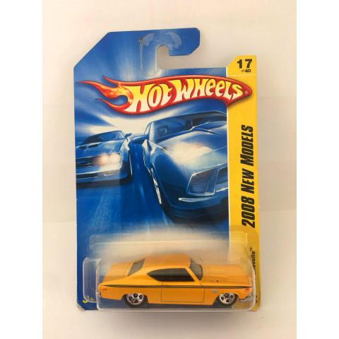 Hot Wheels - 69 Chevelle Amarelo - Mainline 2008