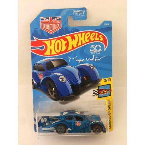 Hot Wheels - Volkswagen Kafer Racer Azul - Mainline 2018