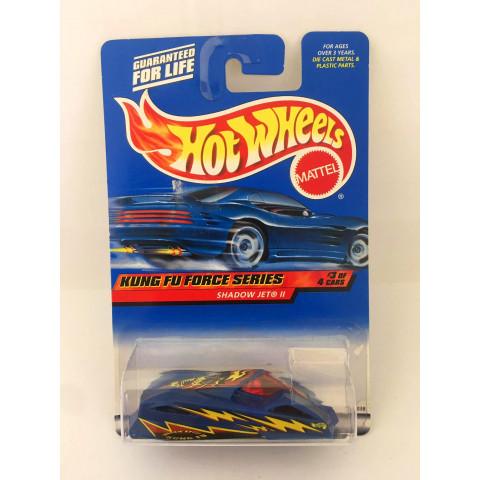 Hot Wheels - Shadow Jet ll Azul - Mainline 2000