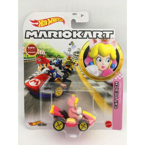 Hot Wheels - Cat Peach Rosa - Standard Kart - MarioKart