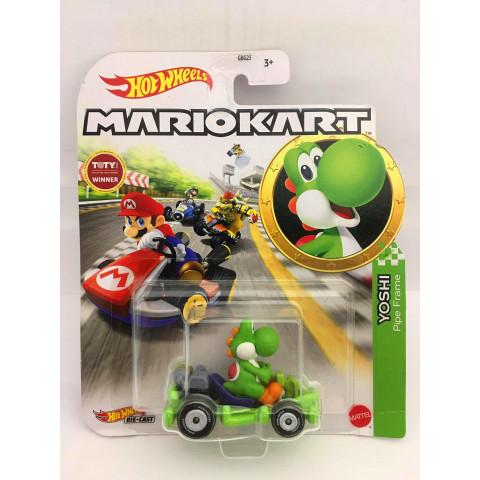 Hot Wheels - Yoshi Verde - Pipe Frame - MarioKart