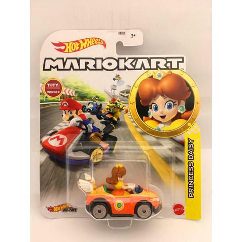 Hot Wheels - Princess Daisy Laranja - Wild Wing - MarioKart