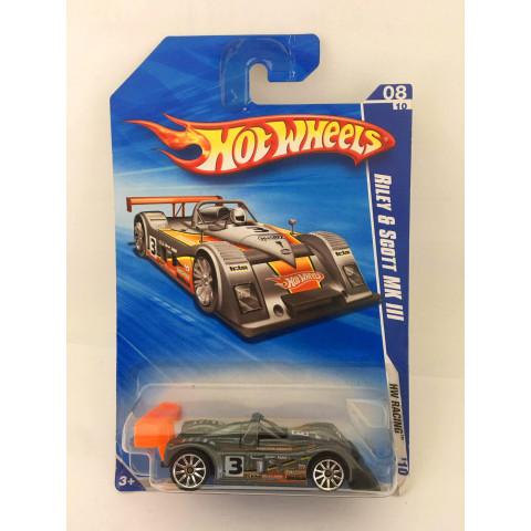 Hot Wheels - Riley & Scott MK lll Cinza - Mainline 2010