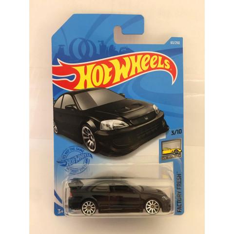 Hot Wheels - Honda Civic Si Preto - Mainline 2021