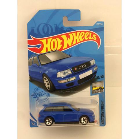 Hot Wheels - 94 Audi Avant RS2 Azul - Mainline 2021