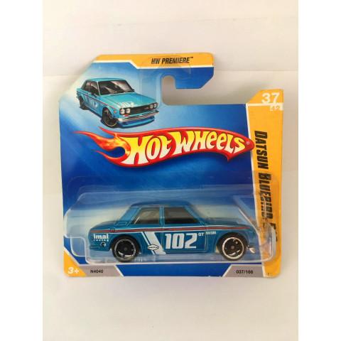 Hot Wheels - Datsun Bluebird 510 Azul - Mainline 2009