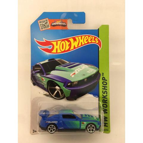Hot Wheels - Custom 12 Ford Mustang Azul - Mainline 2014