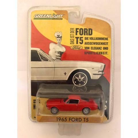 Greenlight - 1965 Ford T5 Vermelho - Das Ist Der Ford T5
