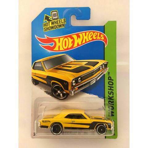 Hot Wheels - 67 Chevelle SS 396  Amarelo - Mainline 2014