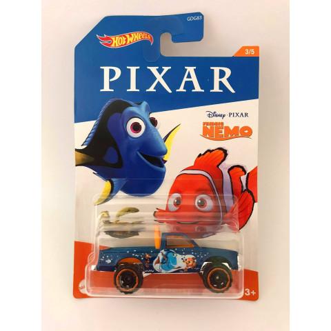 Hot Wheels - Path Beater Azul - Procurando Nemo - Disney Pixar