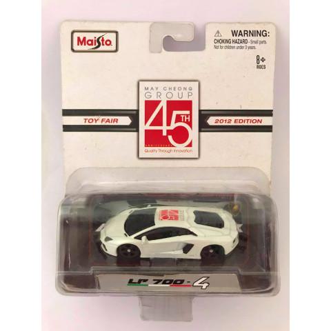 Maisto - Lamborghini LP 700 - 4 Branco - May Cheong Group 45 TH