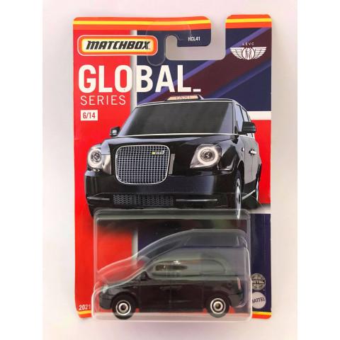 Matchbox - Levc TX Taxi Preto - Global Series