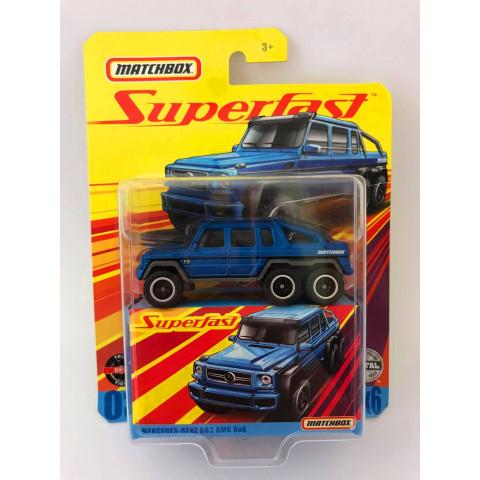 Matchbox - Mercedes-Benz G63 Amg 6x6 Azul - Superfast
