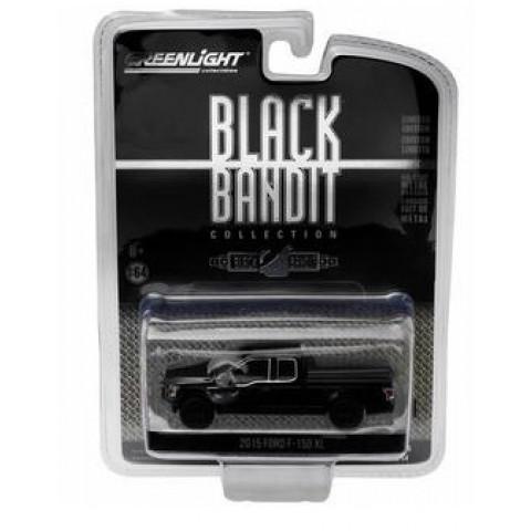 Greenlight - 2015 Ford F-150 XL - Black Bandit