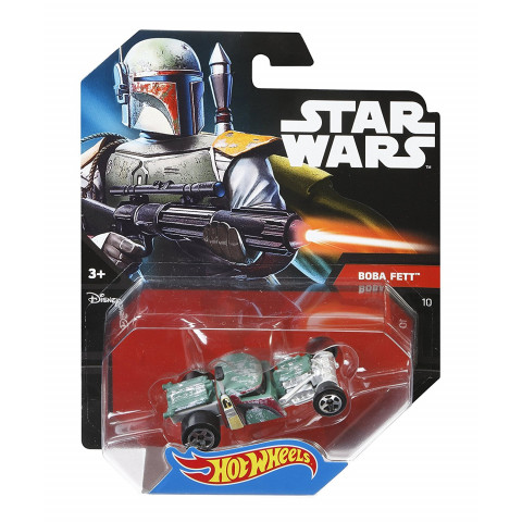 Hot Wheels - Boba Fett - Star Wars