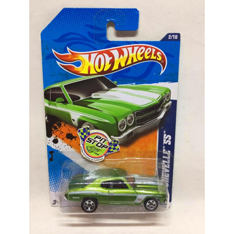 Hot Wheels - 70 Chevelle SS Verde - Mainline 2011