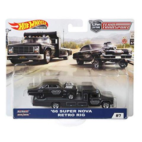 Hot Wheels - 66 Super nova - Retro Rig - Team Transport