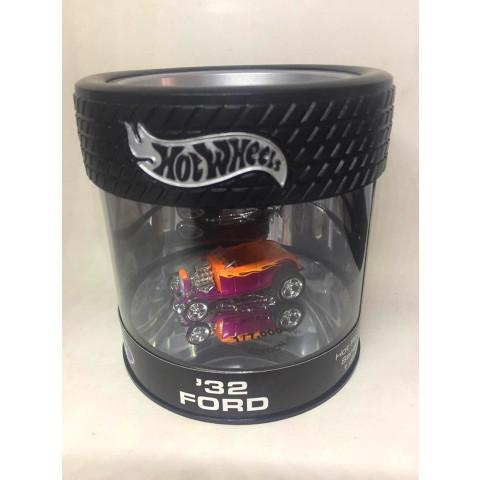 Hot Wheels - 32 Ford Laranja/Rosa - Oil Can