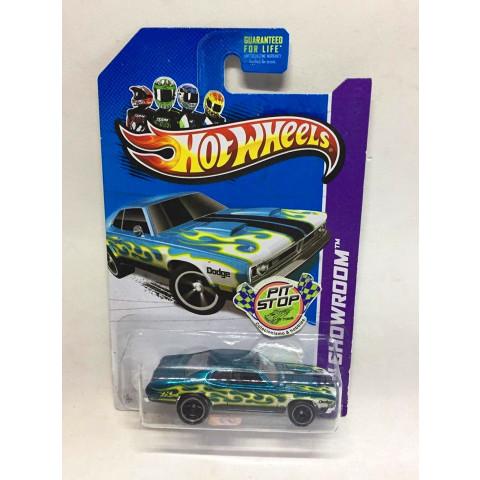 Hot Wheels - 71 Dodge Demon Verde - Treasure Hunt Super 2013