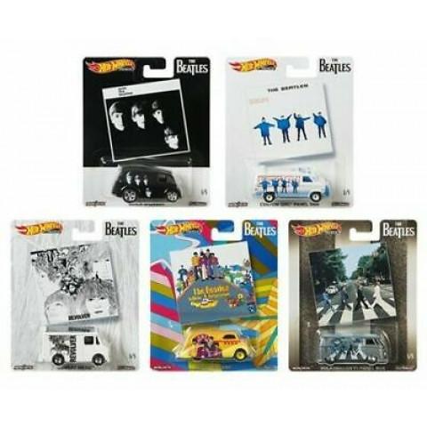 Hot Wheels - Set Beatles 2019 - Completo 05 Miniaturas - HW Premium