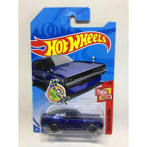 Hot Wheels - Nissan Skyline 2000 GT-R Azul - Treasure Hunt Super 2018
