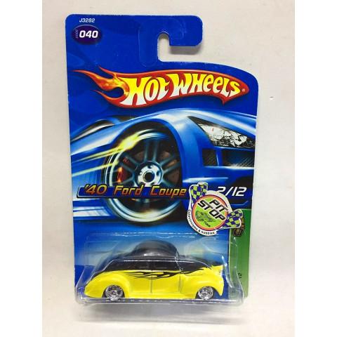 Hot Wheels - 40 Ford Coupe Amarelo - Treasure Hunt Super 2006