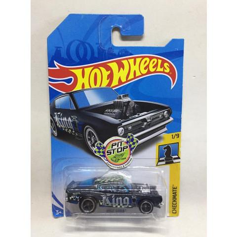 Hot Wheels - King Kuda Preto - Treasure Hunt Super 2018