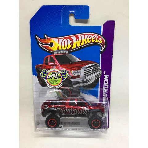 Hot Wheels - 10 Toyota Tundra Vermelho - Treasure Hunt Super 2013